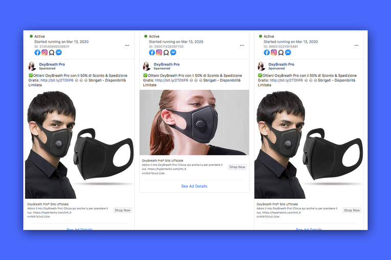 How bad actors manipulate Google, Facebook and Snapchat with fraudulent COVID-19 ads