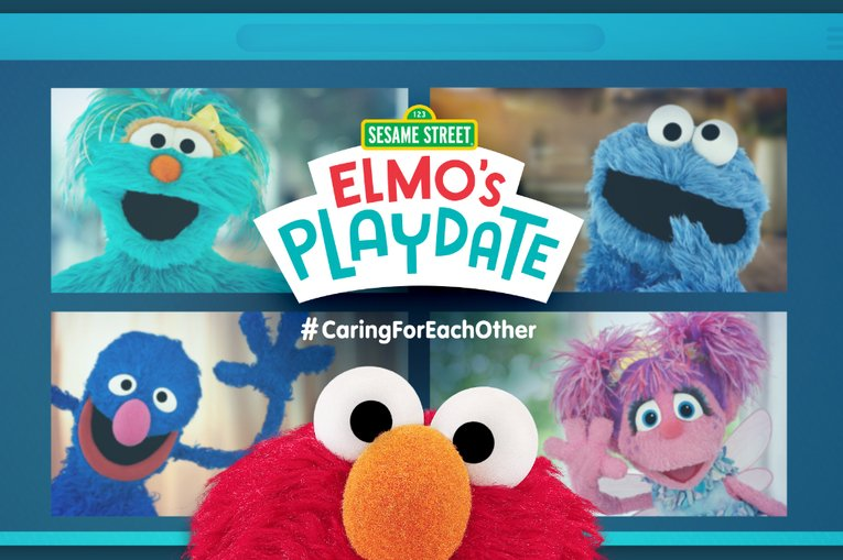 Elmo is set to have a 'virtual playdate' and we're all invited to watch