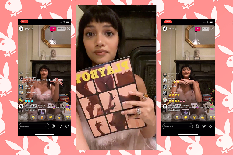 Playboy launches 'Playboy Live' as it adapts to life after print