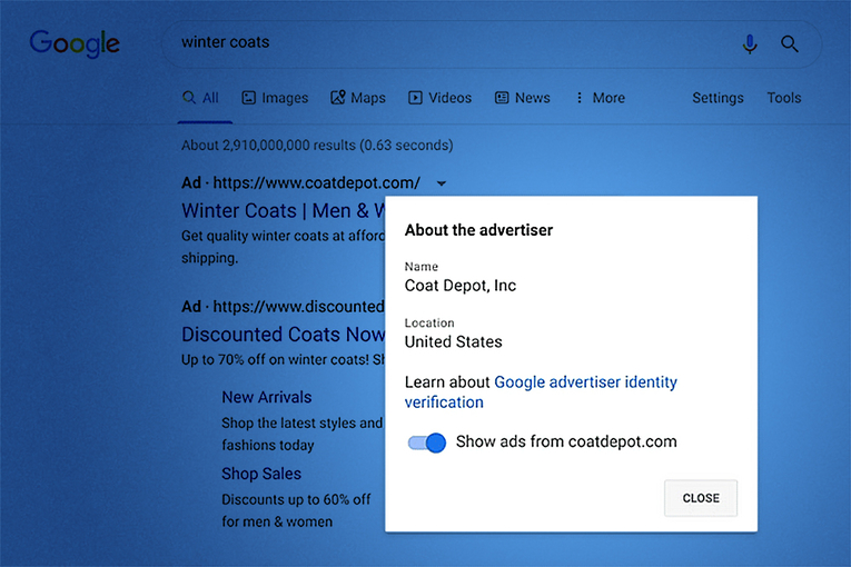 Google will soon require all advertisers to verify their identities before buying ads