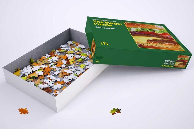 McDonald's: Coronavirus Burger Puzzle