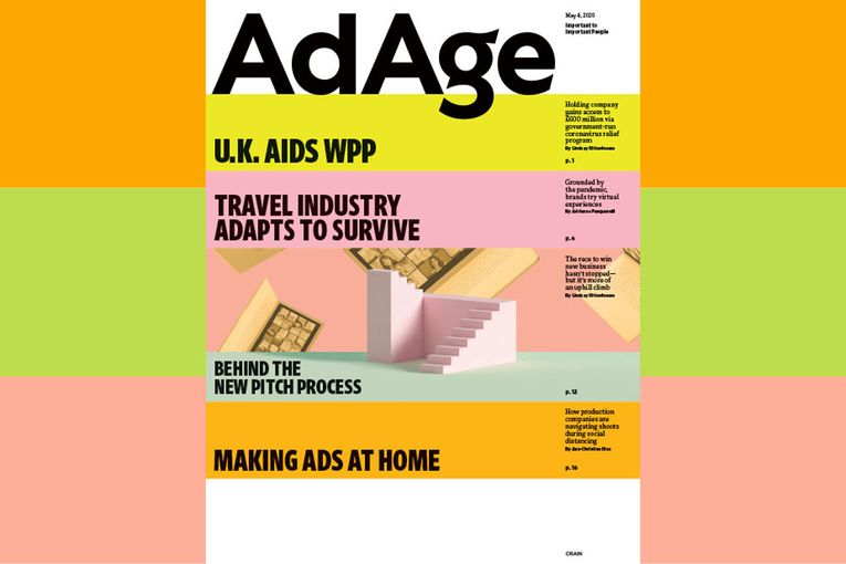 Subscriber Exclusive: Ad Age May 4, 2020 Issue