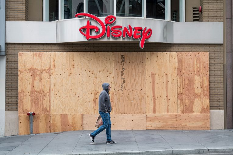 Disney profit plunges by more than half after theme parks close