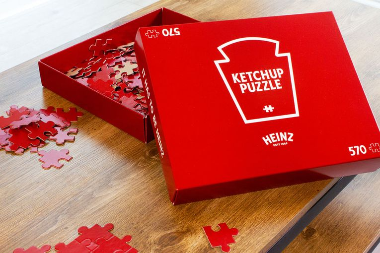 Heinz: Ketchup Puzzle