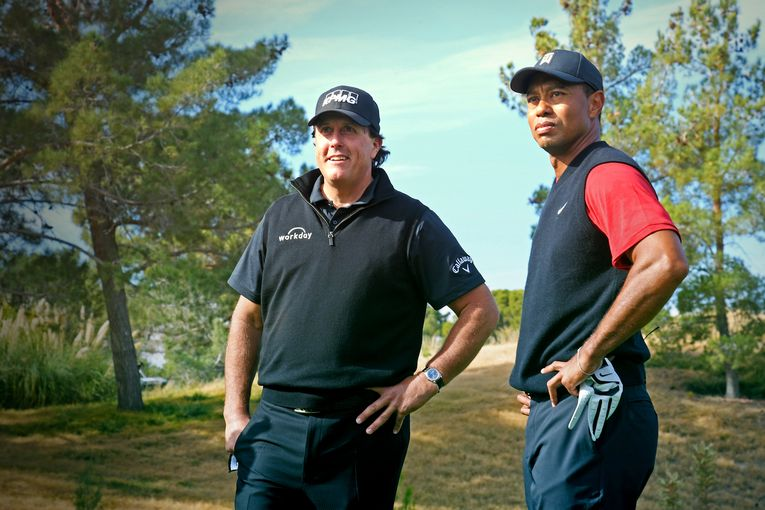 Turner Sports sells out of commercial time in Tiger Woods-Phil Mickelson rematch for COVID-19 relief