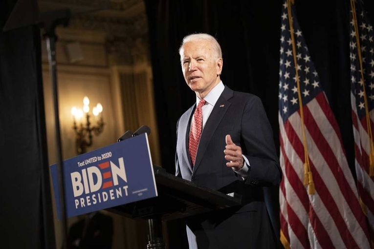 Biden aides insist the virus lockdown isn't slowing his campaign