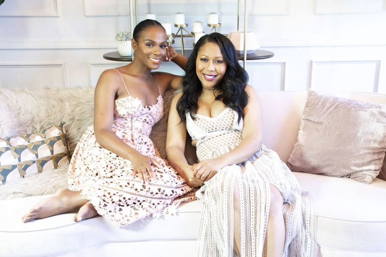 Thai Randolph of Kevin Hart's LOL network and Tika Sumpter debut lifestyle brand