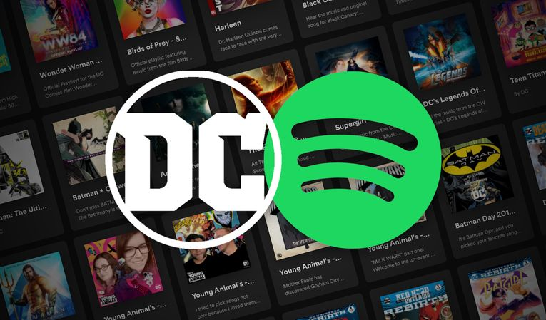 Spotify inks deal with Warner Bros. to bring DC Comics universe to platform