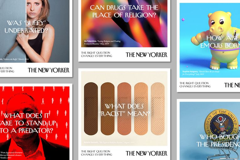 'The Right Question Changes Everything': The New Yorker launches a new brand campaign