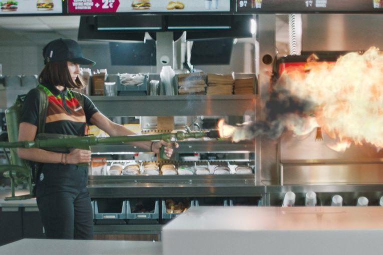 Burger King France: Safety Instructions