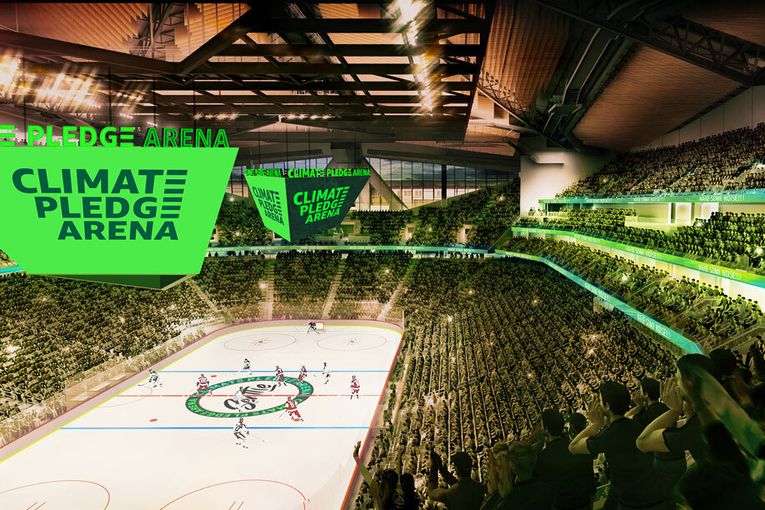 Amazon to rename Seattle's KeyArena 'Climate Pledge Arena'