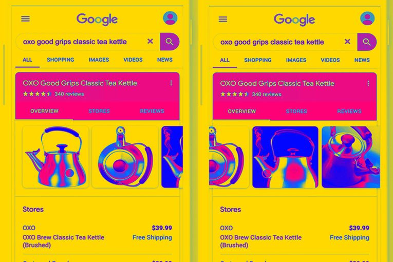 Google converts paid ads into free listings on home page