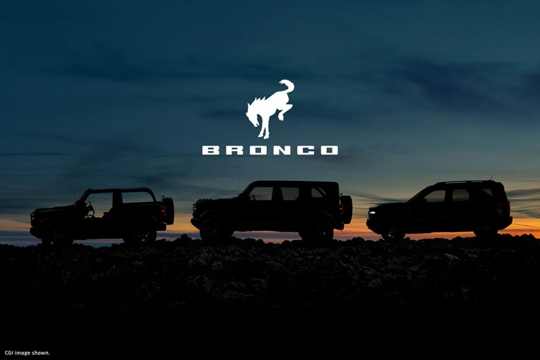 Ford plugs Bronco with new 'Built Wild' tagline