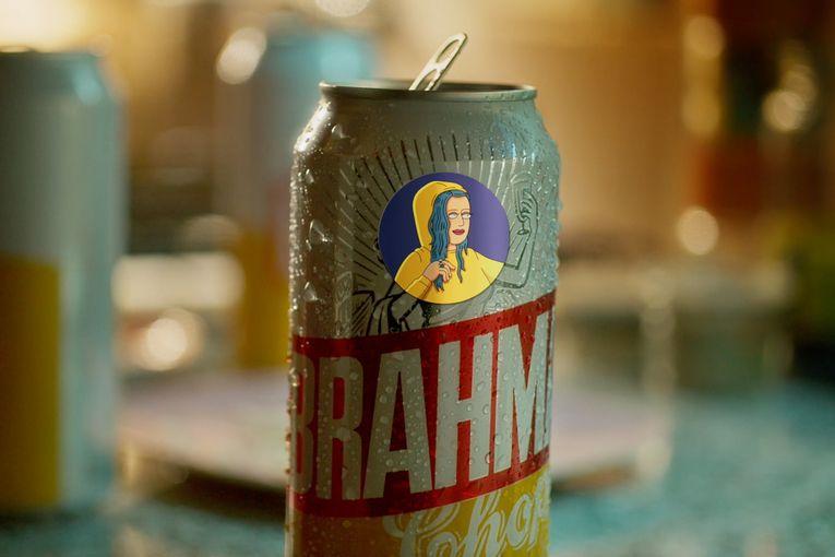 Brahma: Mindful enjoyment stickers