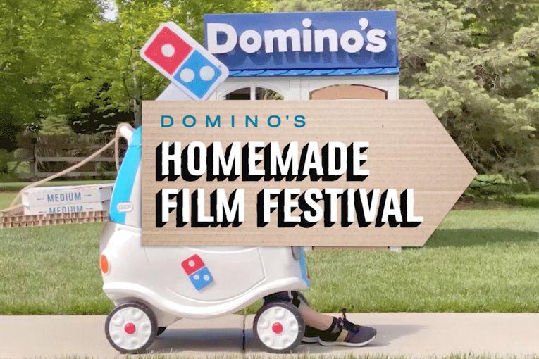 Domino's Homemade Film Festival is the latest DIY COVID-19 creative idea