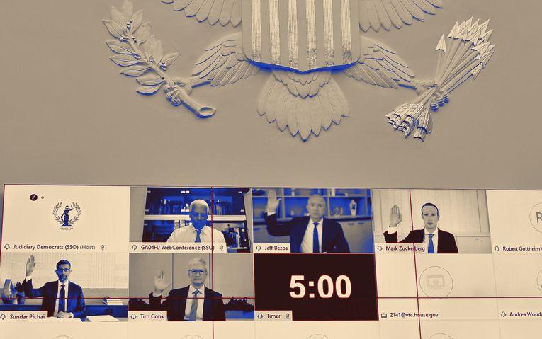 Congress vs. the tech titans, plus the TikTok vs. Facebook SmackDown: Thursday Wake-Up Call