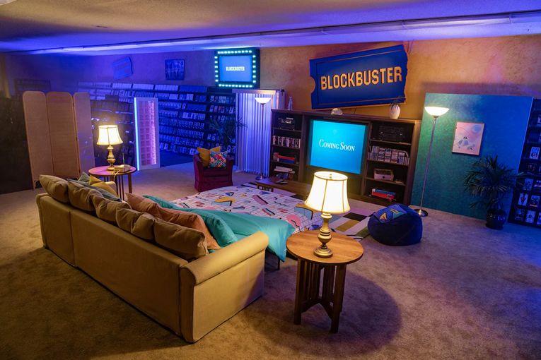 Blockbuster: Airbnb Blockbuster Sleepover