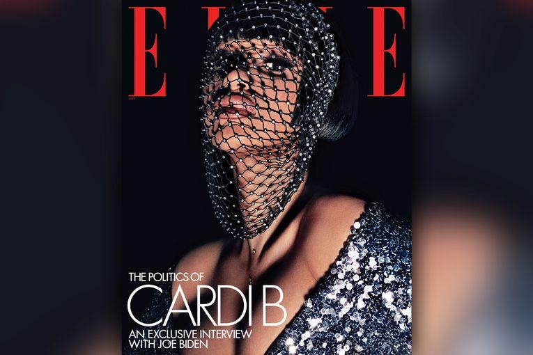 Cardi B interviewed Joe Biden for Elle magazine. Because, sure, why not?