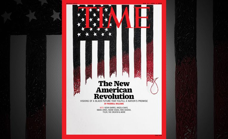 Pharrell Williams curates Time's 'New American Revolution' cover package