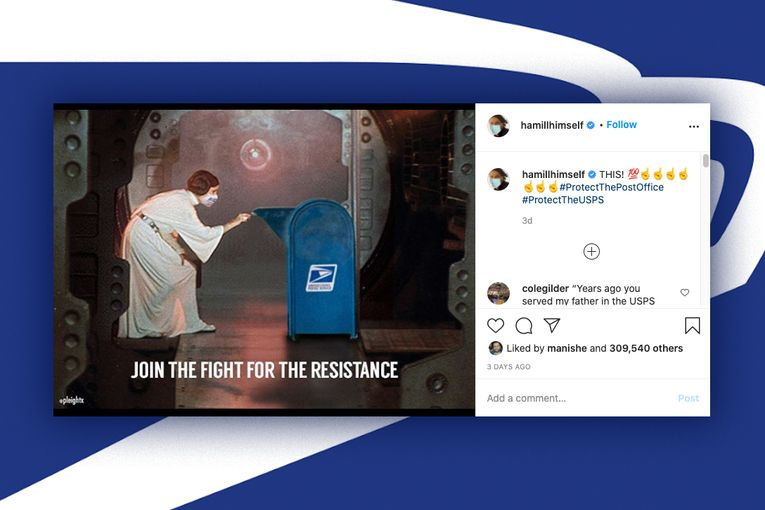 Tom Hanks, Mark Hamill, Taylor Swift and others lend star power to USPS support