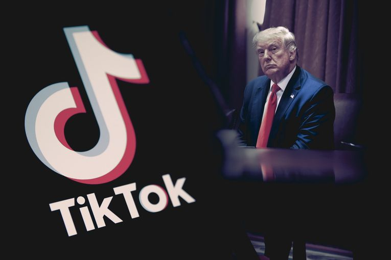 Declaring it isn't a threat, TikTok sues Trump to halt his attacks