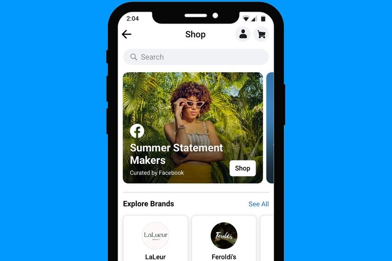 Facebook opens Shop—a new e-commerce tab for brands to showcase their wares