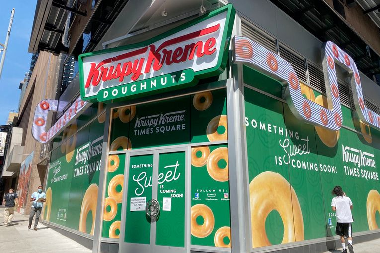 Krispy Kreme CMO on why the brand is opening a flagship store during a pandemic