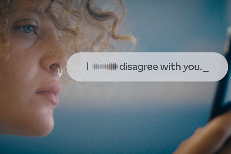 This new font blurs out online hate speech