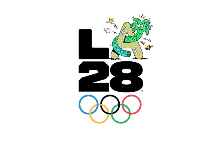 L.A. 2028 unveils dynamic Olympics logo, updated by athletes and celeb creators