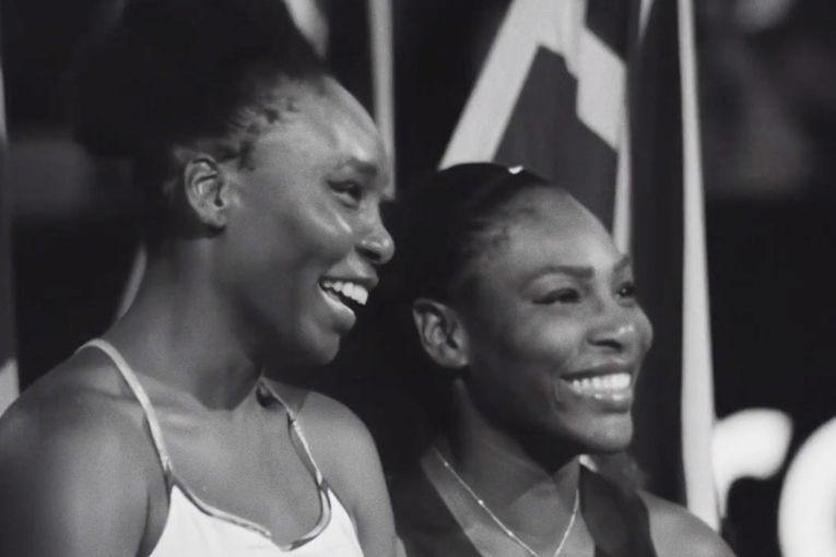 Venus and Serena Williams elevate tennis—and each other—in Nike's latest ad