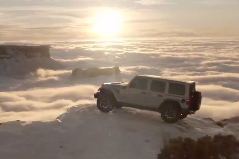 Trending: Jeep drives climate change message with Carl Sagan ad, and Bloomingdale's masks up with voter plea
