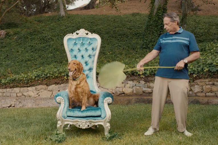 Jon Lovitz is getting paid to hate puppies and pitch senior dog toys