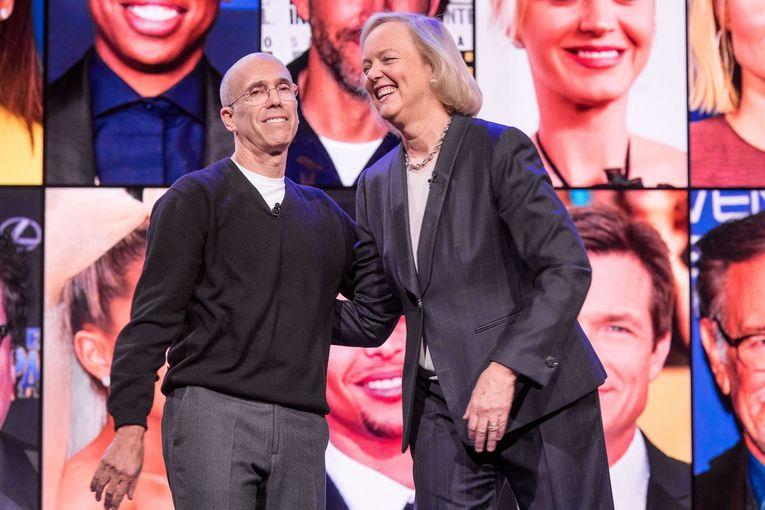 Katzenberg's Quibi mulls sale after growth sputters, WSJ reports