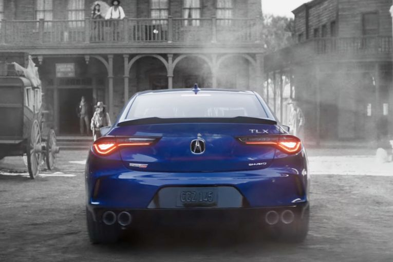 How Acura is marketing its newest sedan in an SUV world