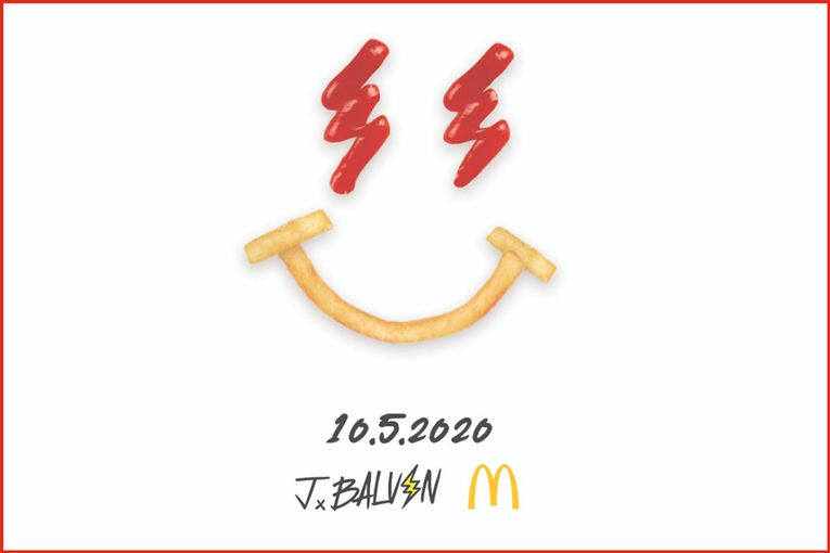 J Balvin follows Travis Scott with his own McDonald's meal