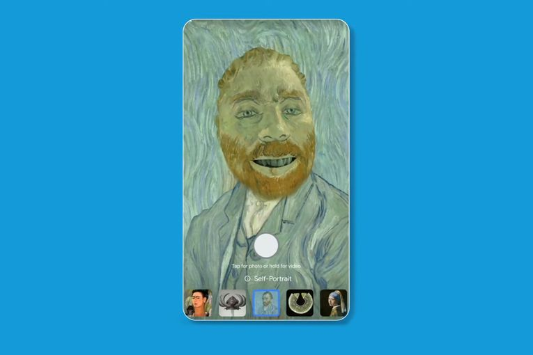 Google's latest innovation is a filter that Van Goghs you