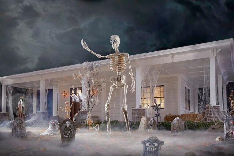Costume store Spirit Halloween spooked by Home Depot's skeleton: Trending