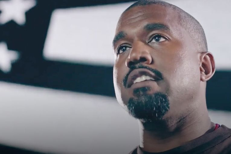 Kanye West urges Americans to write him in as President—and buy his pricey merch