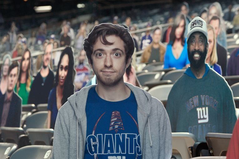 Watch Bud Light's ode to the cardboard sports fan