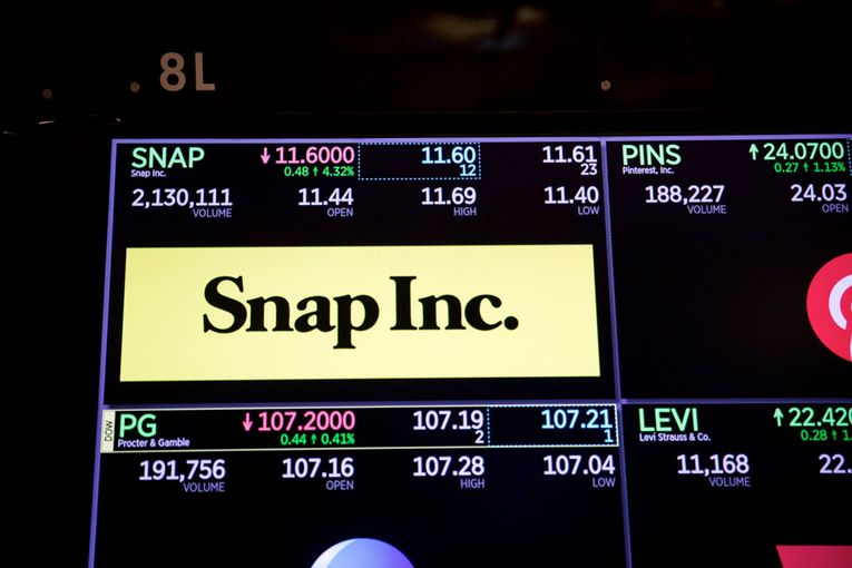 Snap sales beat estimates as digital ad spending rebounds