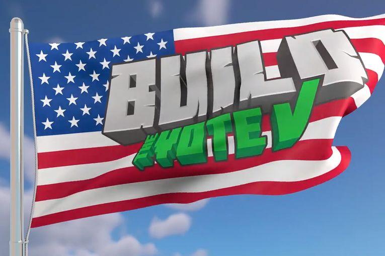 Minecraft/Rock the Vote: Build the Vote
