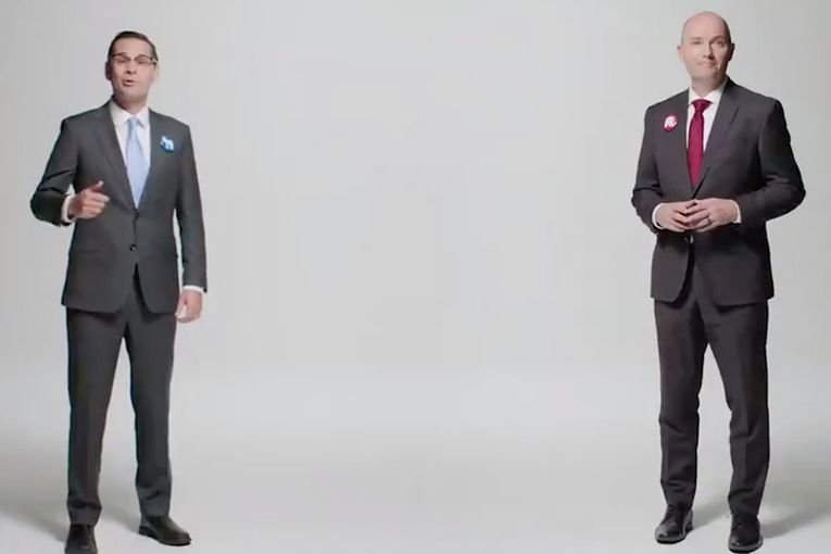 Polite ads from candidates in Utah governor's race reach across the aisle