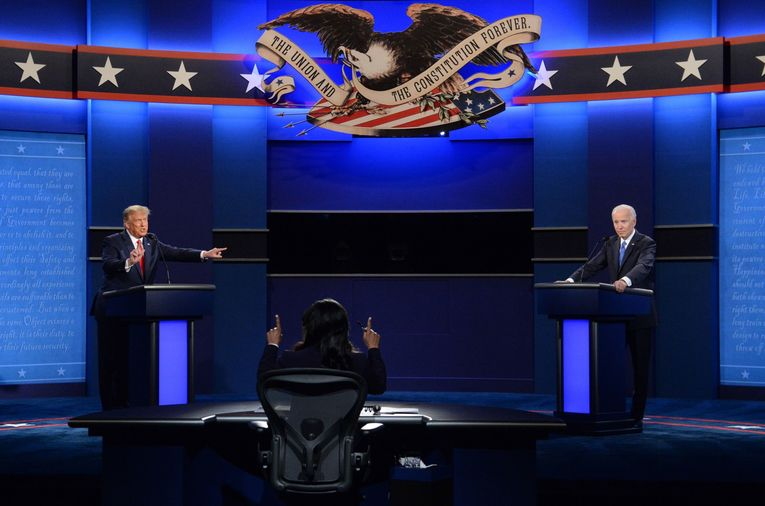 More-subdued presidential debate sees drop-off in TV viewers