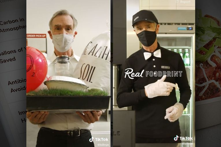 Chipotle taps Bill Nye the Science Guy to help sell its new environmental 'foodprint' tracker