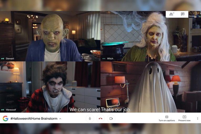 Google Nest: Halloween at Home