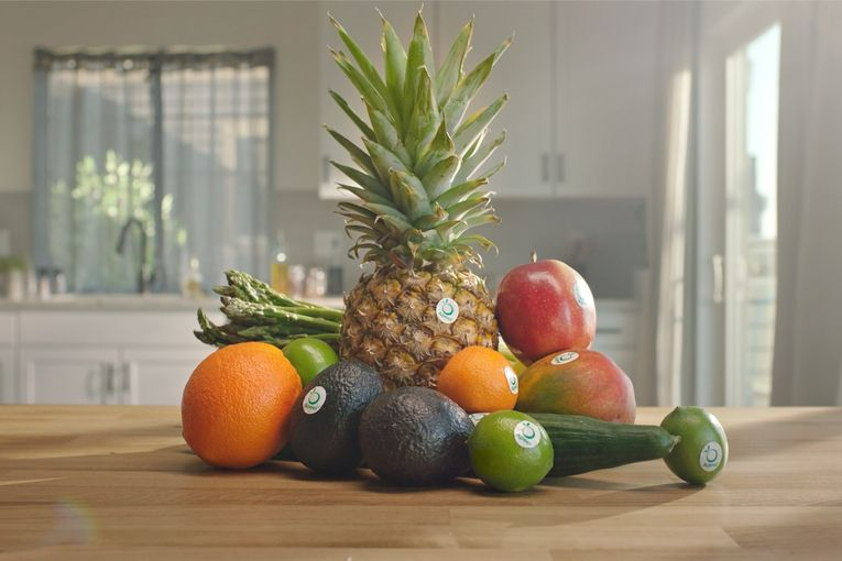 Produce-protection brand Apeel markets itself with a 'food gone good' message