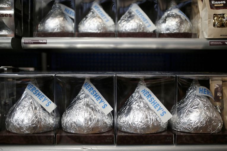 Hershey places its main U.S. media account into review