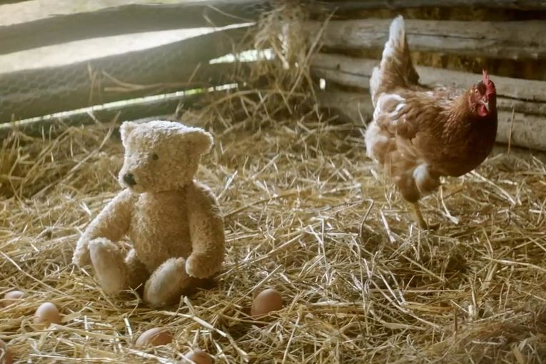 This holiday ad about a girl, her grandpa and a teddy bear may have you in tears
