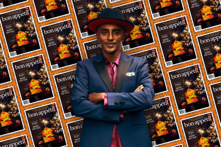 Chef Marcus Samuelsson on guest-editing Bon Appétit's holiday issue