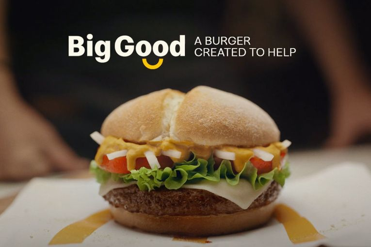 McDonald's made the 'Big Good' burger to help COVID-stricken farms
